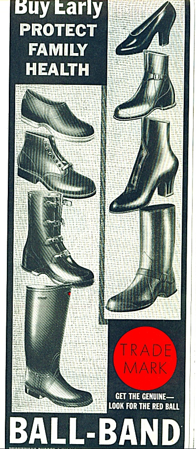 Ball-Band boats and shoes ad 1941 (Image1)