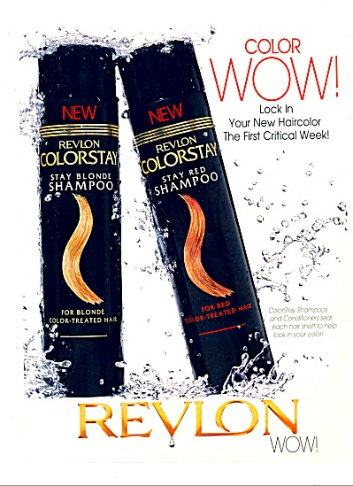 1998 Revlon colorstay shampoo AD (Image1)