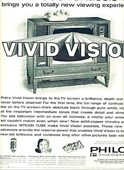 Philco Television ad 1961 (Image1)