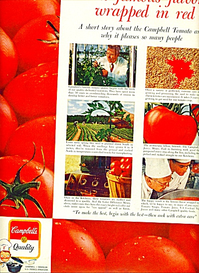 Campbell's quality soups ad 1961 (Image1)