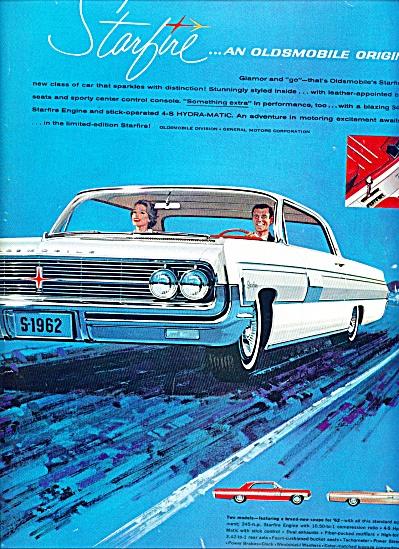 1961 Oldsmobile Starfire automobile ad (Image1)