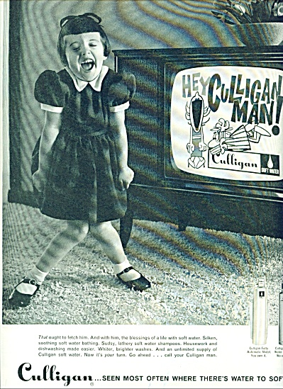 Culligan water softener ad 1961 (Image1)