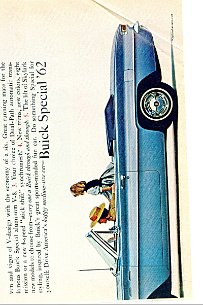 Buick Special automobile for 1962 ad (Image1)