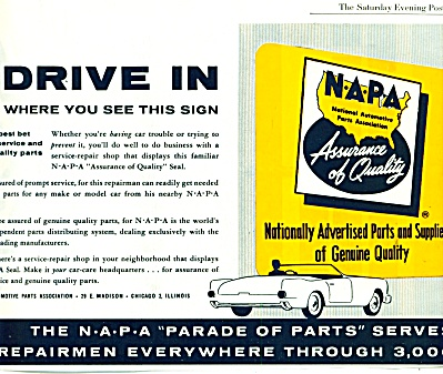 NAPA auto parts ads 1961 (Image1)
