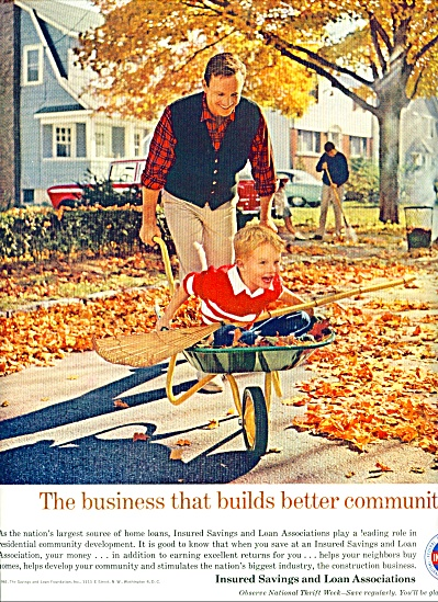 Insured savings and Loan Associations ad 1961 FAMILY (Image1)