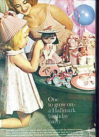 Hallmark greeting cards ad - 1962 (Image1)