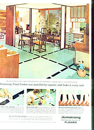 1959 ARMSTRONG Vinyl Corlon Tile MRS COE AD (Image1)