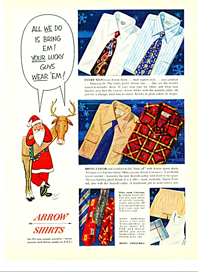 Arrow shirts ad 1951 (Image1)