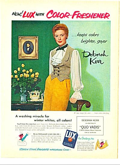 Lux soap  - DEBORAH KERR - ad 1951 (Image1)