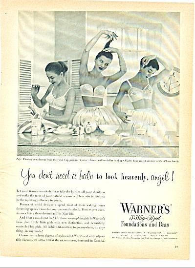 1951 WARNER'S FOUNDATION - BRA AD MODELS (Image1)