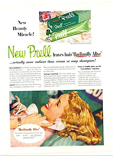 New Prell shampoo ad 1951 (Image1)
