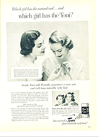 Toni Home Permanent kits ad 1951 (Image1)