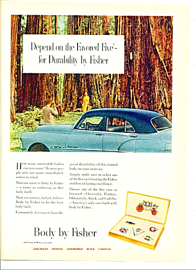 Body by Fisher ad 1951 (Image1)