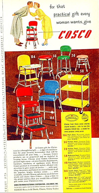 Cosco Household Stools, Chairs, Utility Table