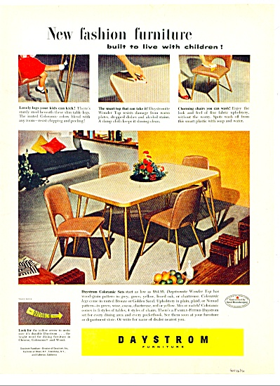 Daystrom furniture ad 1951 (Image1)