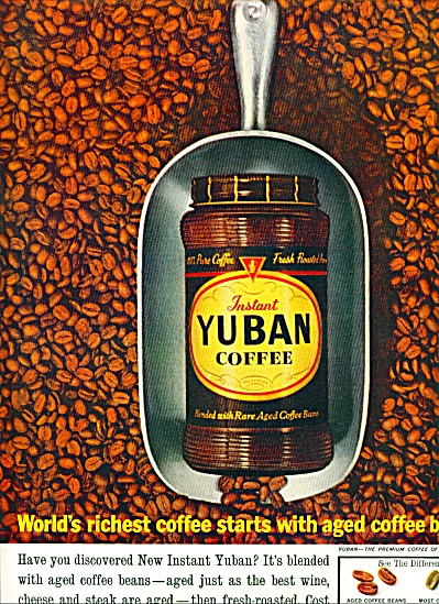 Yuban Instant coffee ad 1961 (Image1)