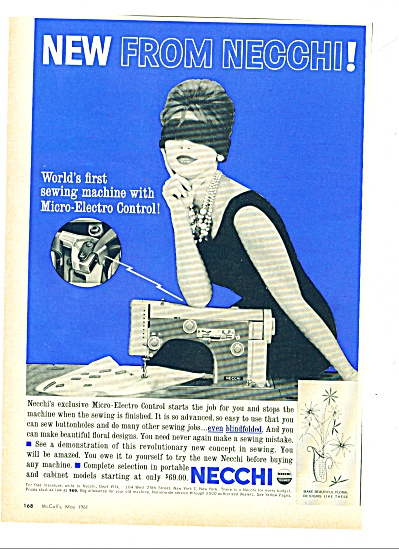 Necchi sewing machaines ad 1961 (Image1)