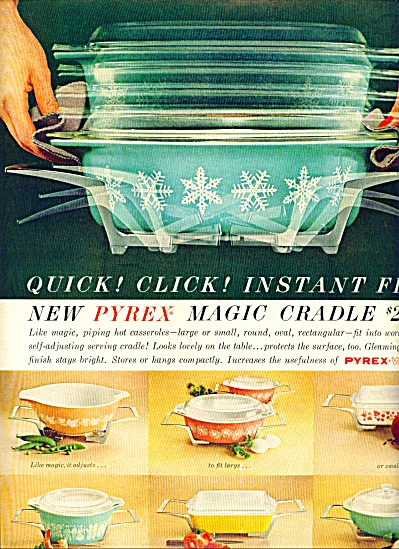Pyrex magic cradle ad 1961 (Image1)