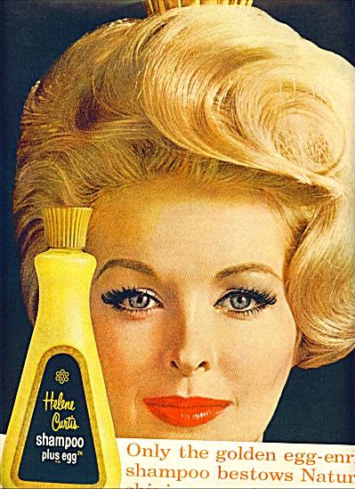 1961 HELENE CURTIS SARA THOM Shampoo AD (Image1)