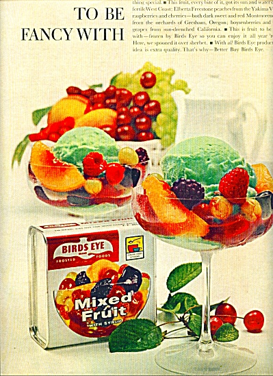 Bird's Eye mixed fruit ad 1961 (Image1)