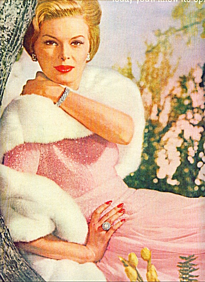 Honey Bee Pink by Revlon ads 1961 (Image1)
