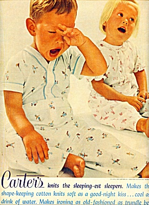 1961 Carter's Sleeper Clothes AD Little Boy (Image1)