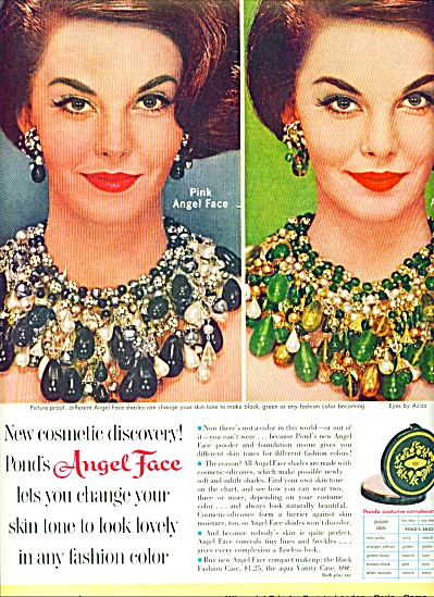 1961 PINK ANGEL FACE - POND'S AD Beautiful MO (Image1)