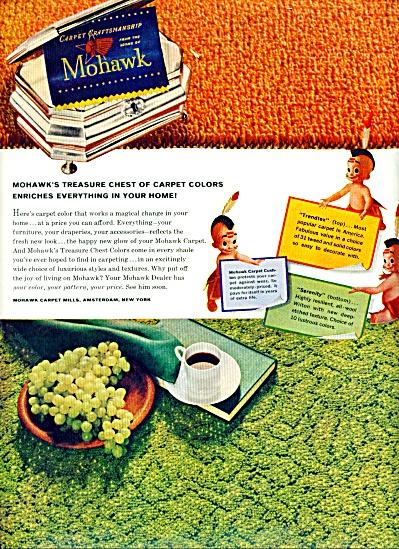 Mohawk carpet craftsmanship ad 1961 (Image1)