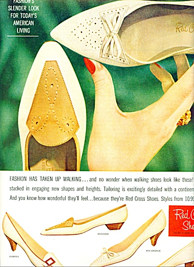 Red Cross Shoes ad 1961 (Image1)