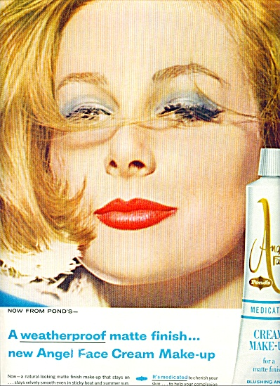 1962 POND's ANGEL FACE Make Up AD (Image1)
