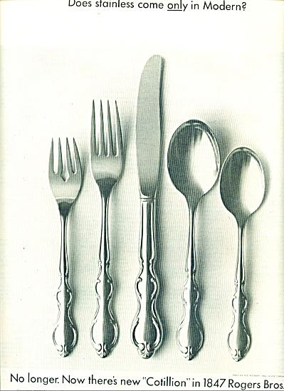 Rogers Bros silverware ad 1962 (Image1)