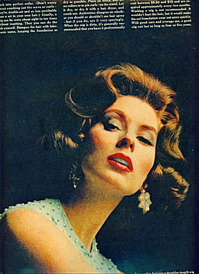 1962 Magical Ways Of Wigs - Suzy Parker