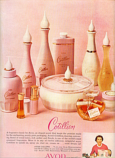 1962 Avon Cotillion 76th Anniversary Ad (Image1)