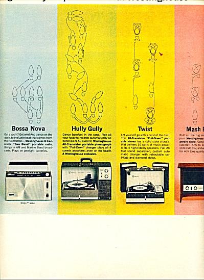 Westinghouse radios, record players , clocks (Image1)