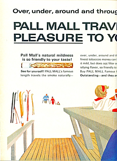 Pall Mall famous cigarettes ad 1963 (Image1)