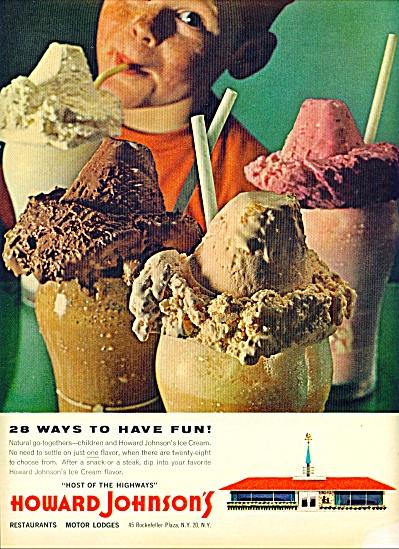 Howard Johnson's motor lodges-restaurants ad (Image1)