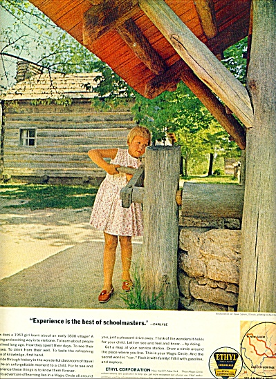 1963 Ethyl corporation AD NEW SALEM ILL PIC (Image1)