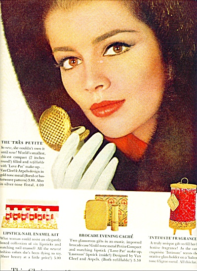1963 REVLON The Tres Petite AD 2 pg. (Image1)