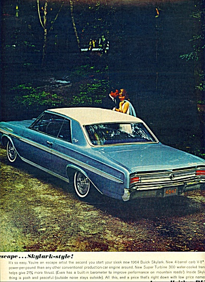 Buick Skylark automobile for 1964 (Image1)