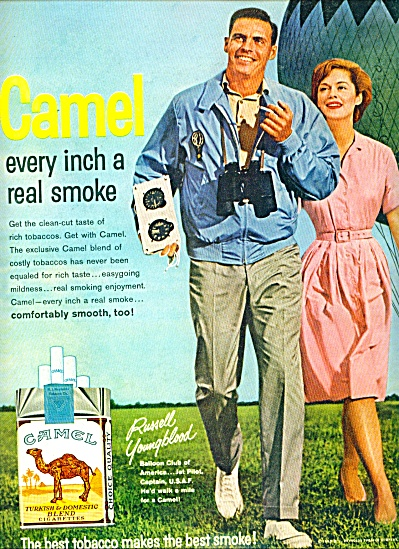 1963 Camel cigarette AD Russell Youngblood US (Image1)