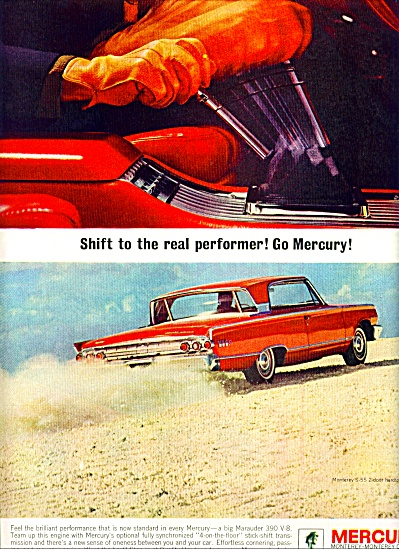 Mercury Monterey Automobile Ad 1963