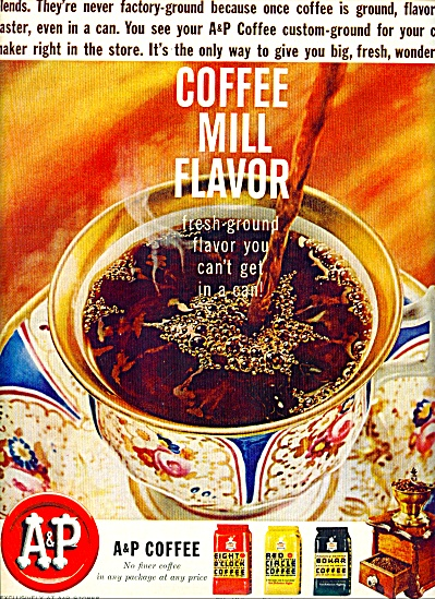 A & P Coffee ad 1963 (Image1)