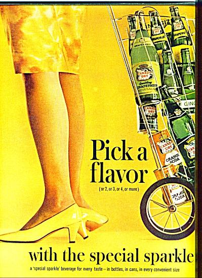 1963 Canada Dry Soda AD PICK A FLAVOR (Image1)