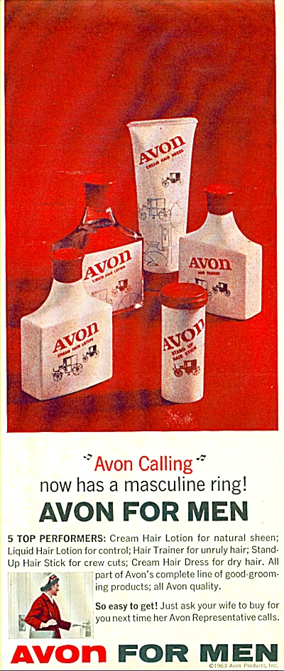 Avon for Men ad 1963 (Image1)