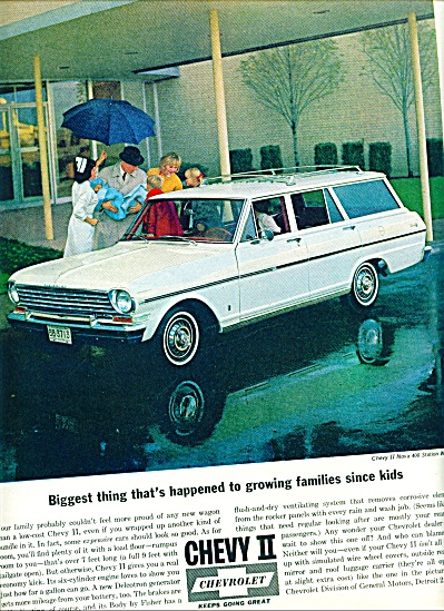 1963 Chevrolet - Chevy II ad New Baby Home (Image1)
