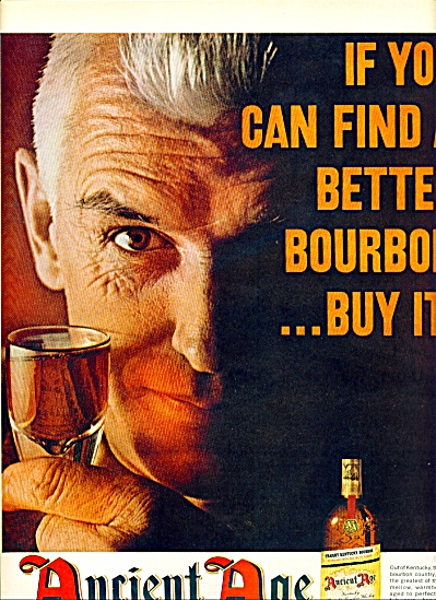 Ancient Age Bourbon Ad 1963
