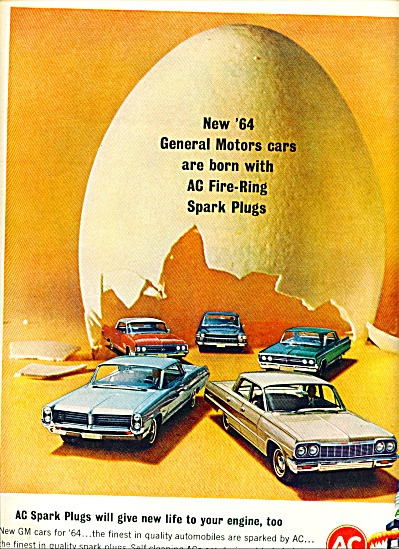 AC fire ring spark plugs ad 1963 (Image1)
