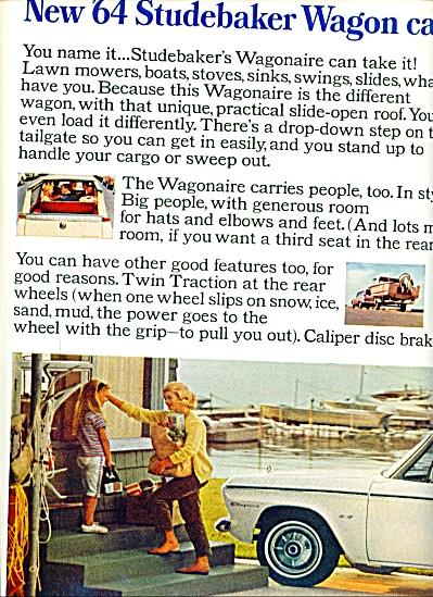 Studebaker wagon ad for 1964 (Image1)
