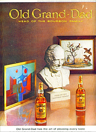 Old Grand Dad - head of the bourbon family (Image1)