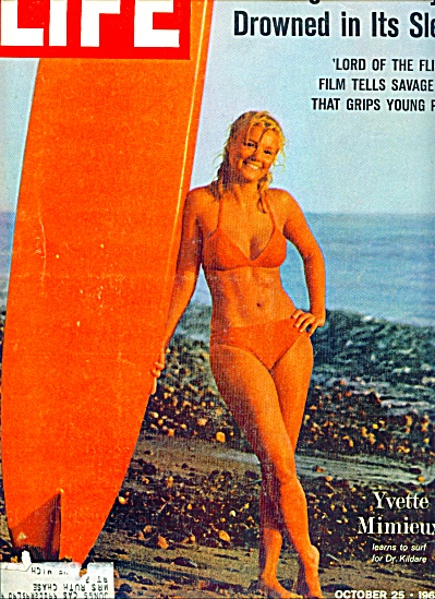 YVETTE MIMIEU   - Hollywood Starlet - story (Image1)